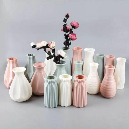 Buy Plastic Flower Vase Decoration Home Flower Vases Ceramic Vase Pot Decor Flowers Online In Sri Lanka 124131816577