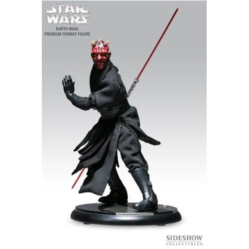 "1//4 Darth Maul Black Robe Star Wars for Sideshow Premium Format Statue 18/""Figure"