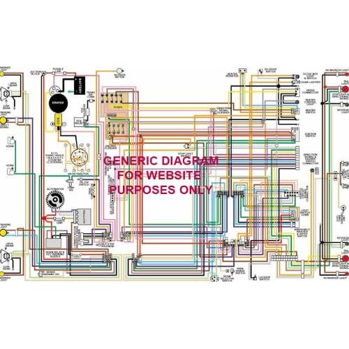 Full Color Laminated Wiring Diagram Fits 1970 1971 Datsun 240z Large 11 X 17 Size Buy Products Online With Ubuy Sri Lanka In Affordable Prices B00l88mtfc
