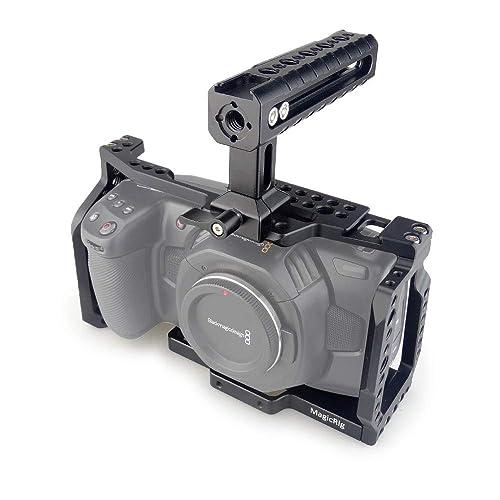 Magicrig Bmpcc 4k 6k Camera Cage With Nato Handle For Blackmagic Design Pocket Cinema Camera 4k Camera 6k Buy Products Online With Ubuy Sri Lanka In Affordable Prices B07rdbxhvr