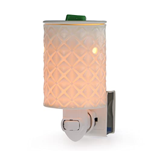 Buy Starmoon Plug In Wax Melt Warmer For Home Décor Pluggable Home Fragrance Diffuser No Flame Removable Dish With One More Bulb Four Leaf Clover Online In Sri Lanka B07n64yb45