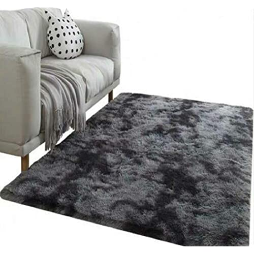 Daheng Soft Cosy Shaggy Rugs Fluffy Living Room Area Carpets Home Bedroom Floor Mat 120160cm Dark Grey Buy Products Online With Ubuy Sri Lanka In Affordable Prices B081dw6wym