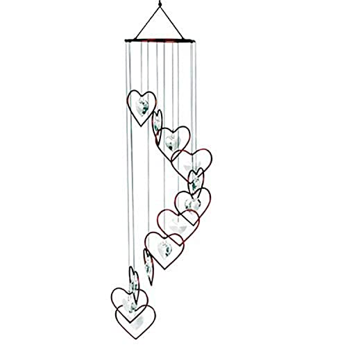 Buy Red Carpet Studios Spiral Tune Red Heart Chime With Heart Crystals Online In Sri Lanka B000eppbu0
