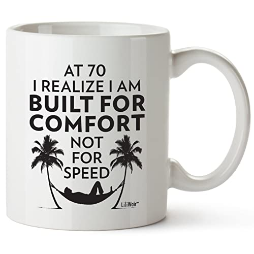 Buy 70th Birthday Gifts For Women Seventy Years Old Men Gift Mugs Happy Funny 70 Mens Womens Womans Wifes Female Man Best Friend 1949 Mug Male Unique Ideas 49 Woman Wife Gag
