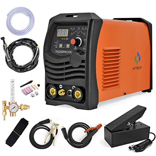 Hitbox Tig Welder Acdc 200a Pulse Tig Stick 4 In 1 Multifunction High Frequency Iron Aluminum Tig Welding Machine Buy Products Online With Ubuy Sri Lanka In Affordable Prices B07j68s7d8