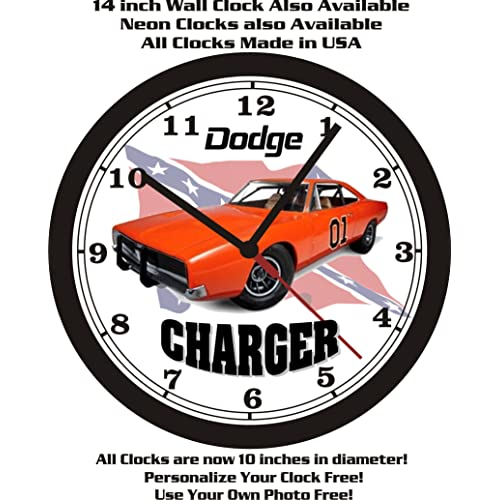 1969 Dodge Charger General Lee Wall Clock Free Usa Ship Dukes Of Hazard Buy Products Online With Ubuy Sri Lanka In Affordable Prices B00fv8xlz2