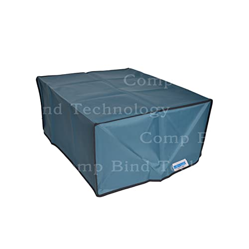 Comp Bind Technology Printer Dust Cover for HP Officejet Pro 6958 e-All-in-One Printer 18.5W x 15.5D x 9H Clear Vinyl Dust Cover By Comp Bind Technology