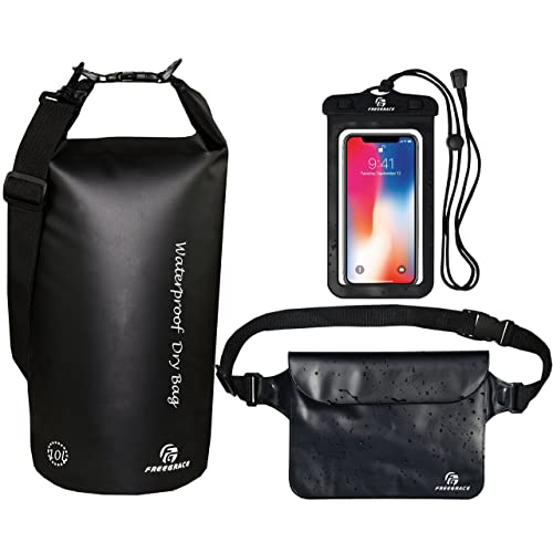 Pouch Bag Waterproof Case With Waist Strap For Beach Swimming Boat Kayaking DS