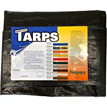 100G // Metre Squared Durable Tarpaulin Waterproof with Eyelets for Covering Garden Furniture Roof Cover and Much More Heavy Duty Tarp White 9.8 FT x 13.1 FT // 3M x 4M Camping